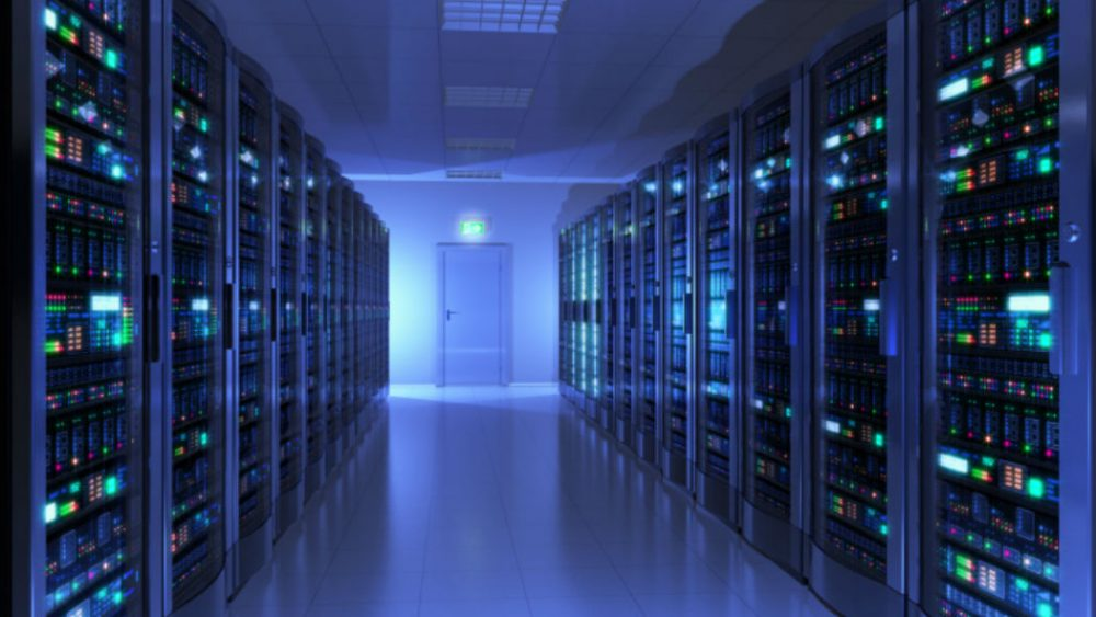 powerful server room
